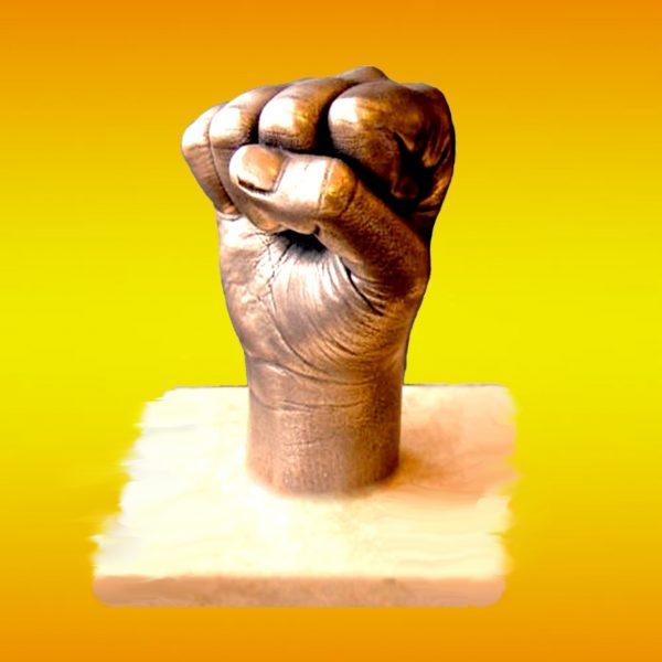Слепок руки 3D