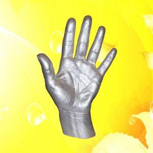3D слепок руки без подставки