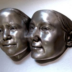 Слепок лица, маски, барельефы