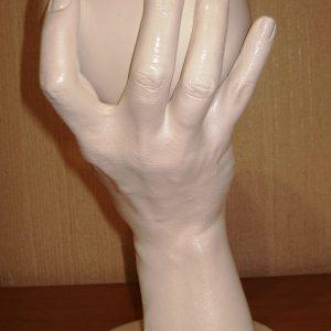 """Зліпок 3D """"Жіночі груди в руці"""""""